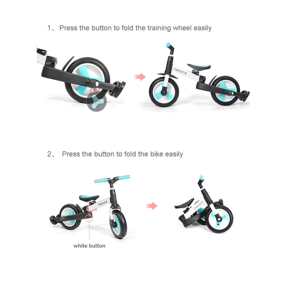 Children Balance Bike Kids Bicycle Toddler Push Tricycle