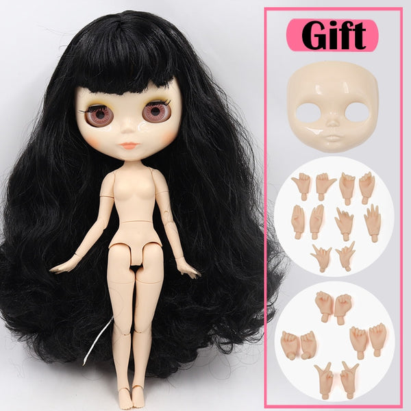 ICY Blyth doll No.1 glossy face white skin joint body 1/6 BJD special price 1/4 BJD,Pullip,Jerryberry,Licca toy gift