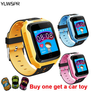 Kids Watch Smart GPS tracker SOS call Location Flashlight Camera Remote listening with gifts Q528 Y21 Children Smart Watches