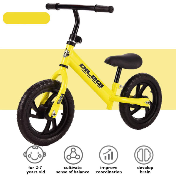 Baby Balance Bike Kids Walker Bicycle Ride on Toys Two Wheels Gift for 2-6years Old Children Learning Walk Racing Sliding Bike