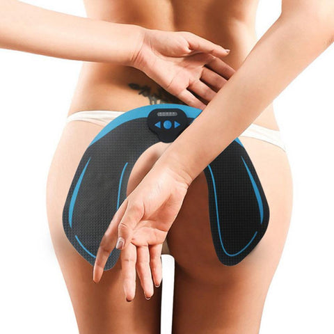 1 Set Smart EMS Hip Trainer with Remote Control Buttocks Lifting Electric Vibration Muscle Slimming Machine Home Fitness Gym