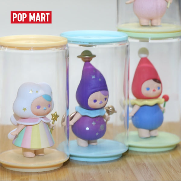 POPMART Toy Display Cans Random Plastic box gift free shipping