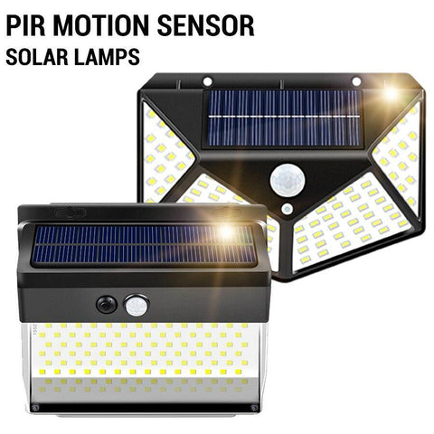 LED Solar Light Outdoor Waterproof Street Garden Lamps 3 Modes PIR Motion Sensor Solar Lights 100/172/262LEDs Solar Lamps Decor