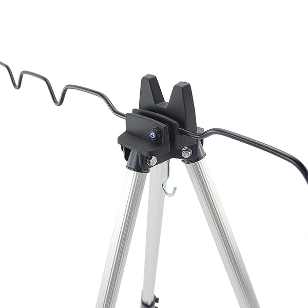Carp Fishing Adjustable Tripod Retractable Fishing Rod Pod Rods Tackle Accessories