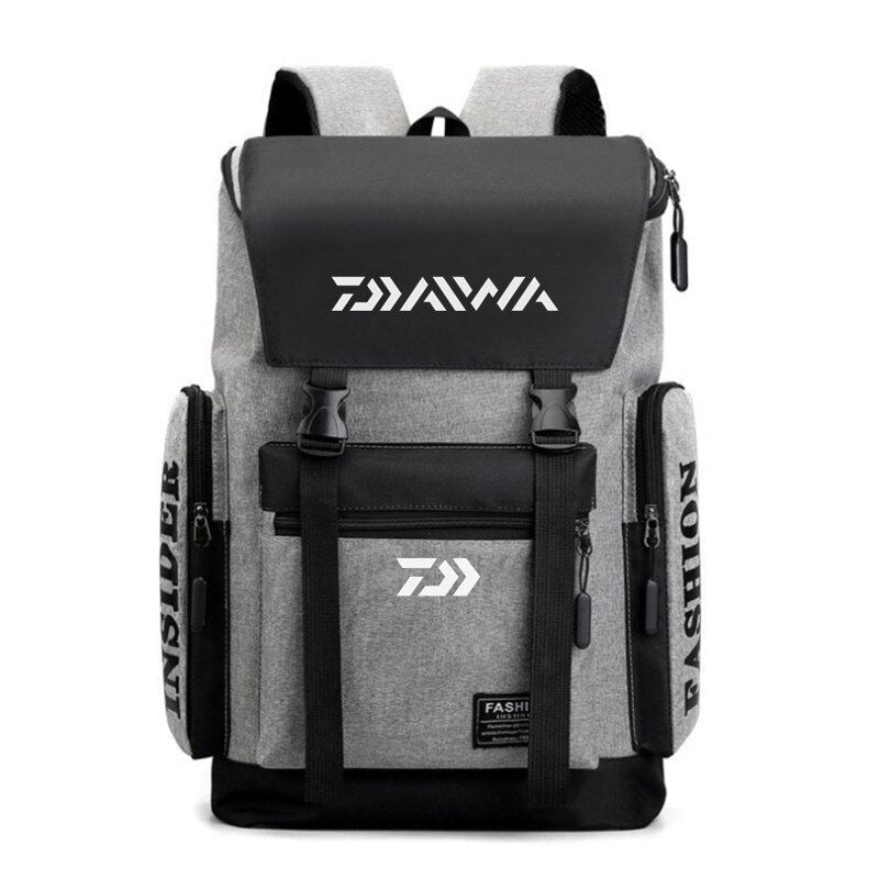 2020 New Daiwa Sport Climbing Fishing Bag Hiking Bag Large Capacity Outdoor Sports Backpack Fishing Backpack Waterproof Bag 212#