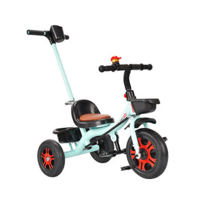 Kids Tricycle Stroller Bicycle With Push Rod Baby Walker Baby Balance Car Trolley Bicycle Boy Girl Toy Car Baby Bike Stroller