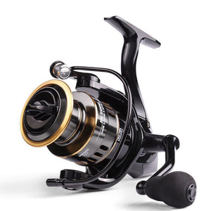 outdoor Fishing Reel All Metal Spool 8KG Max Drag Stainless Steel Handle Line Spool Saltwater Fishing Accessories