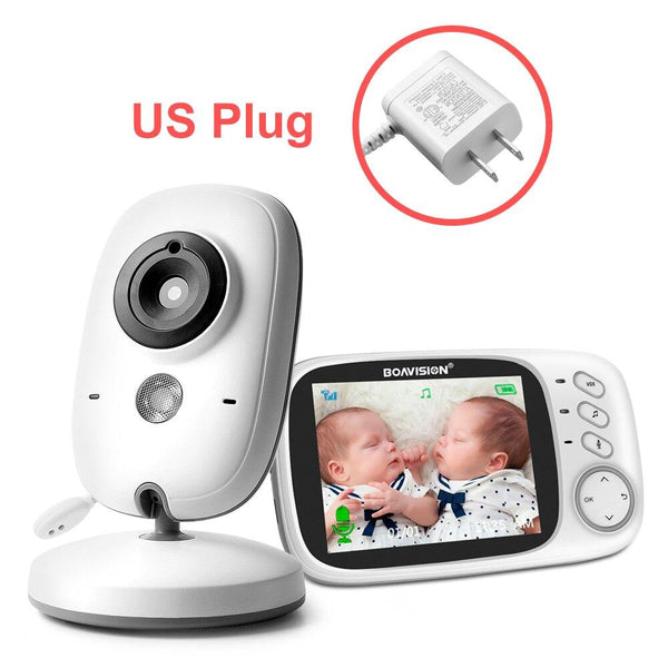 VB603 Video Baby Monitor 2.4G Wireless With 3.2 Inches LCD 2 Way Audio Talk Night Vision Surveillance Security Camera Babysitter