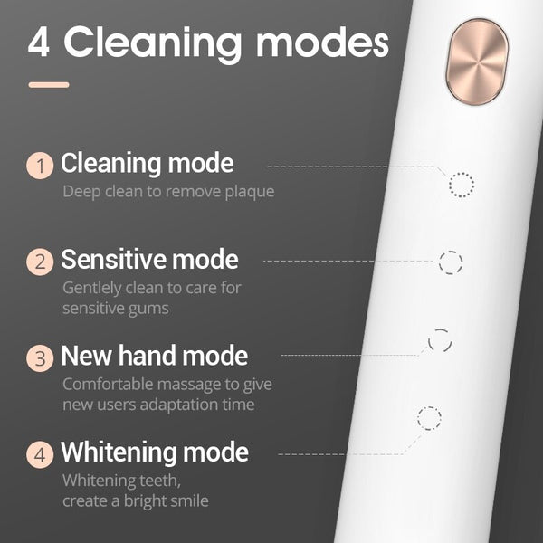 SOOCAS X3U Sonic Electric Toothbrush Smart Tooth Brush Ultrasonic Automatic Toothbrush USB Fast Rechargeable Adult Waterproof