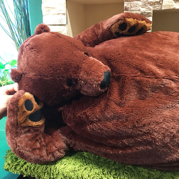 VIP 100cm Soft Mr.Boss Teddy Bear Plush Toys Dark Brown Bear Super Big Hugging Pillow Animal Cushion Children Birthday Gift