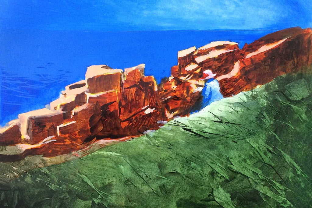 Inspired By... Laura Knight - On the Cliffs