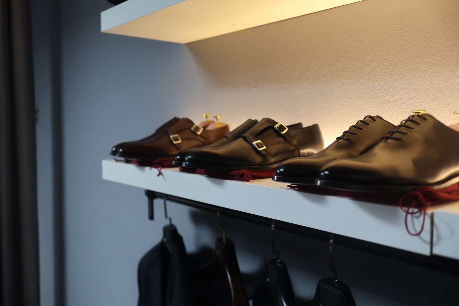 51 Label Dress Shoes and Sneakers in the 51 Label Flagship Showroom