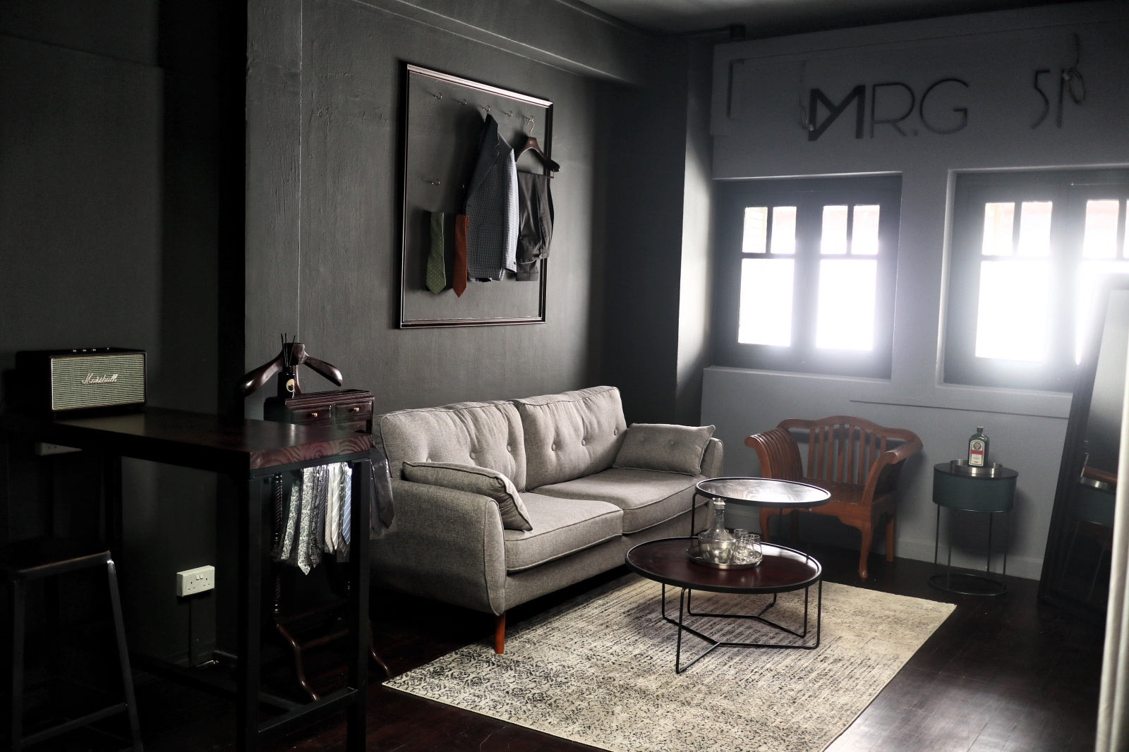51 Label Showroom's Lounge Area