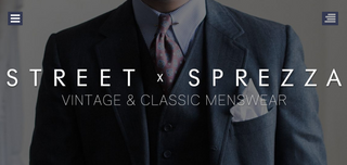 Street X Sprezza Menswear Blog Homepage