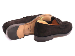 Back_View_Of_Dejon_Dark_Brown_Suede_Penny_Loafers