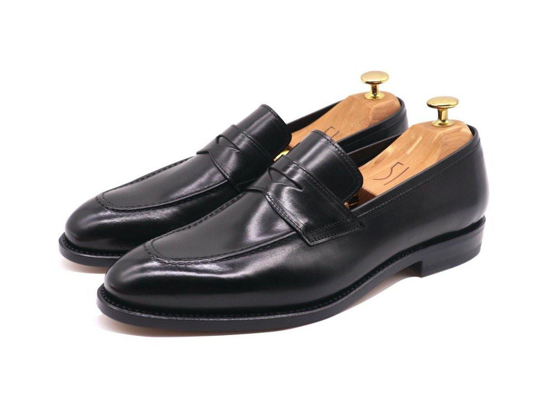 Lorens Penny Loafers - Black