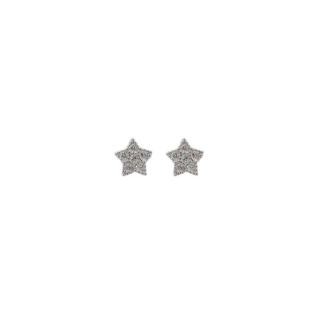 Sterling silver 925o Star Earrings