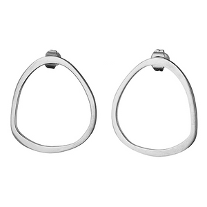 Stainless Steel Triangle Earrings
