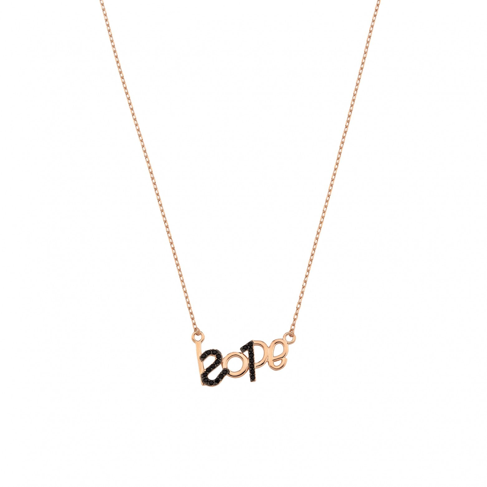 Sterling Silver 925o Hope 21 Lucky Charm Necklace