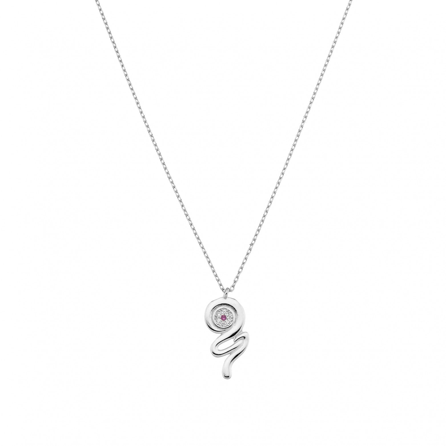 Sterling Silver 925o Target 21 Lucky Charm Necklace