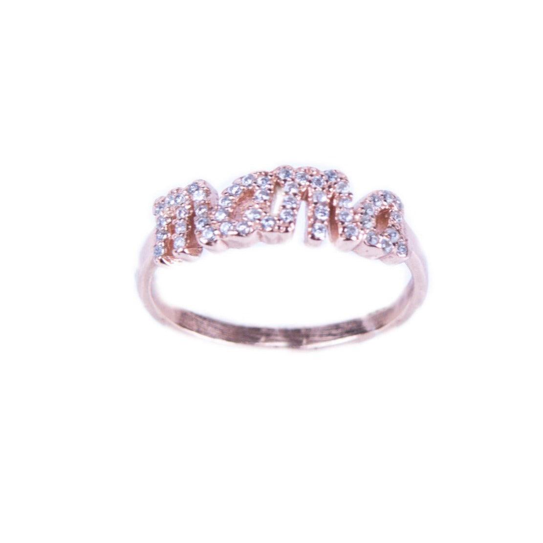 Sterling Silver 925o Mama Ring