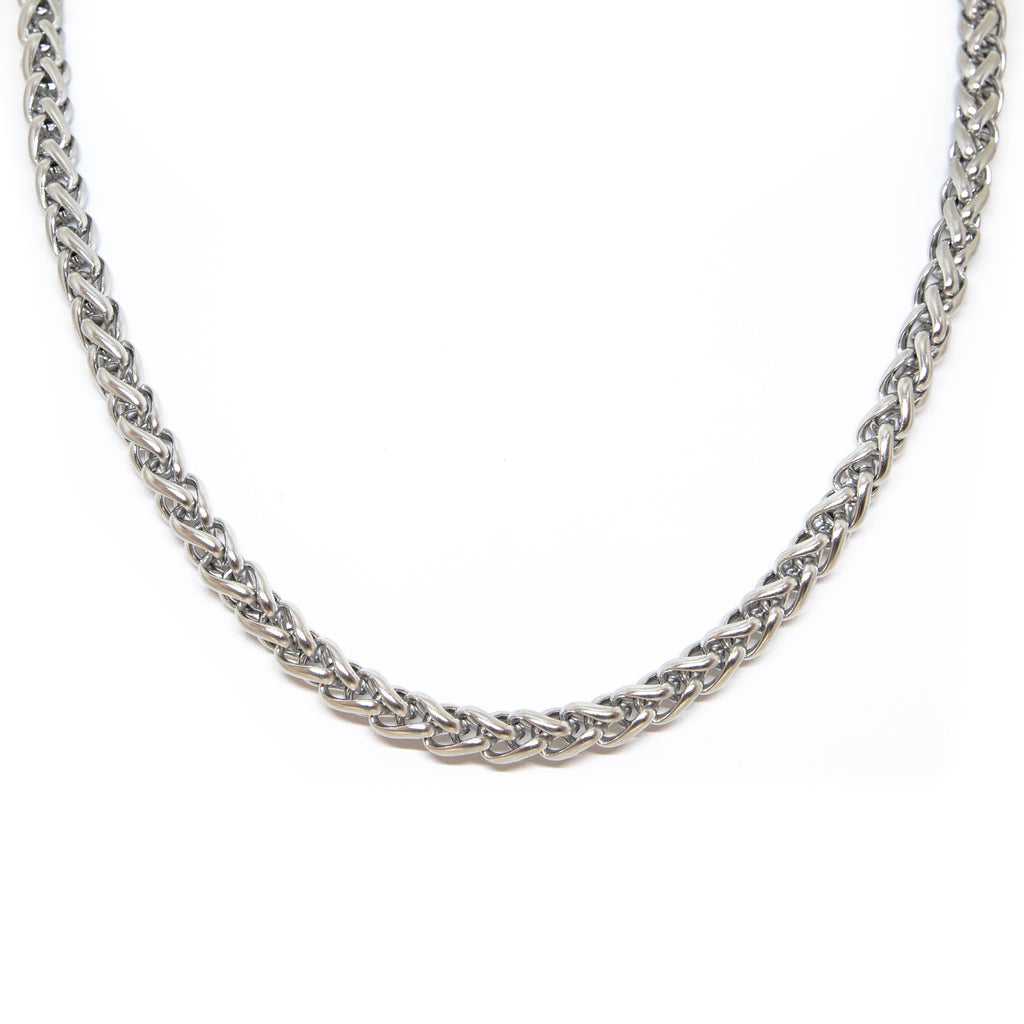 Thick round chain stainless steel