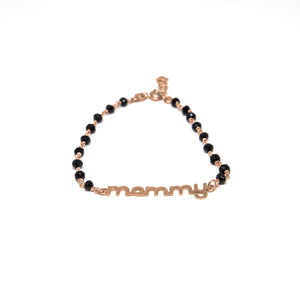 Mammy Bracelet in Sterling Silver 925o with agate stones