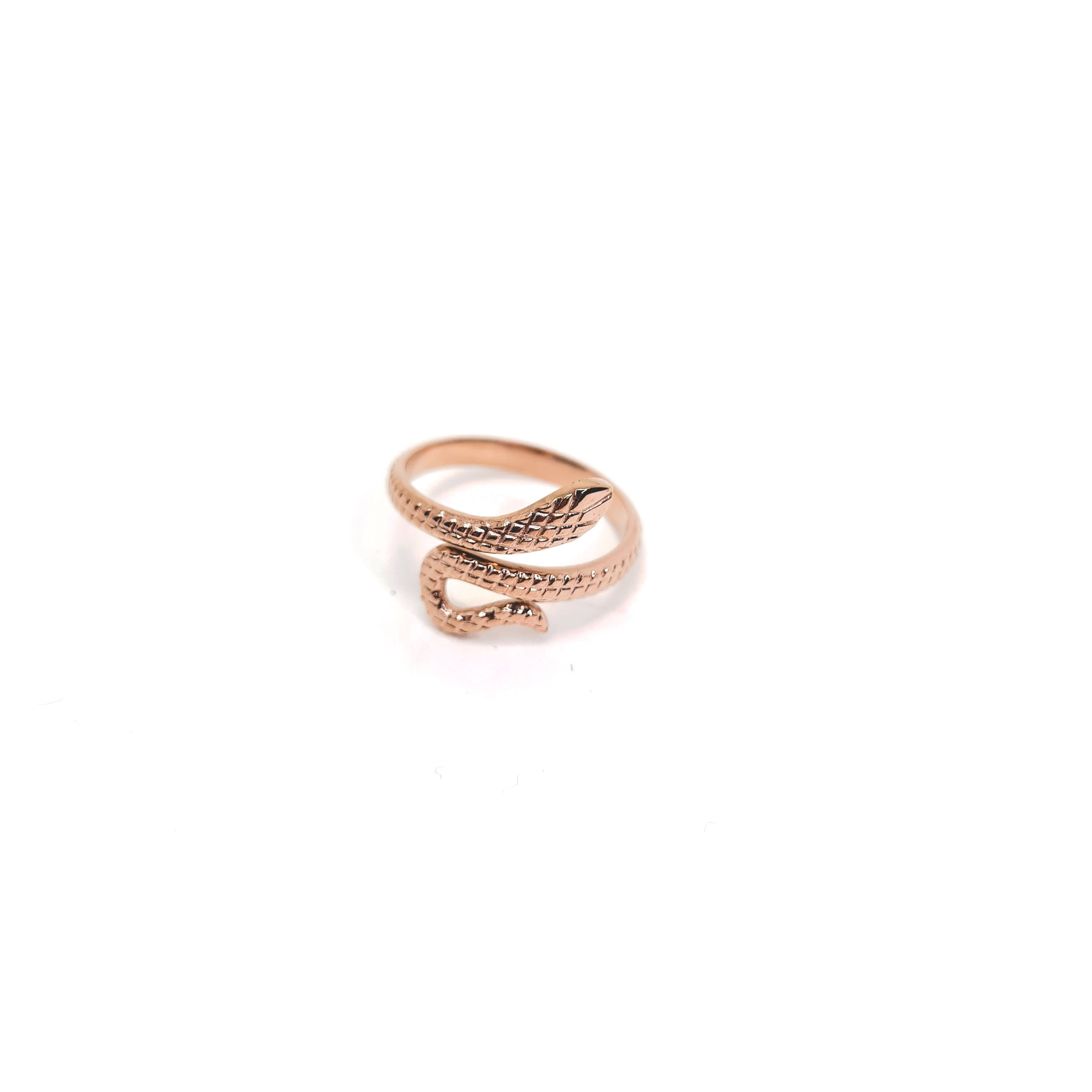 Stainless Steel Snake Ring