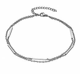 Stainless Steel Double Ankle Chain
