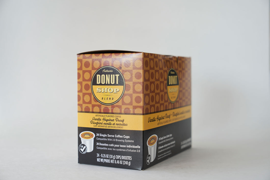 Authentic Donut Shop Blend Decaf Vanilla Hazelnut