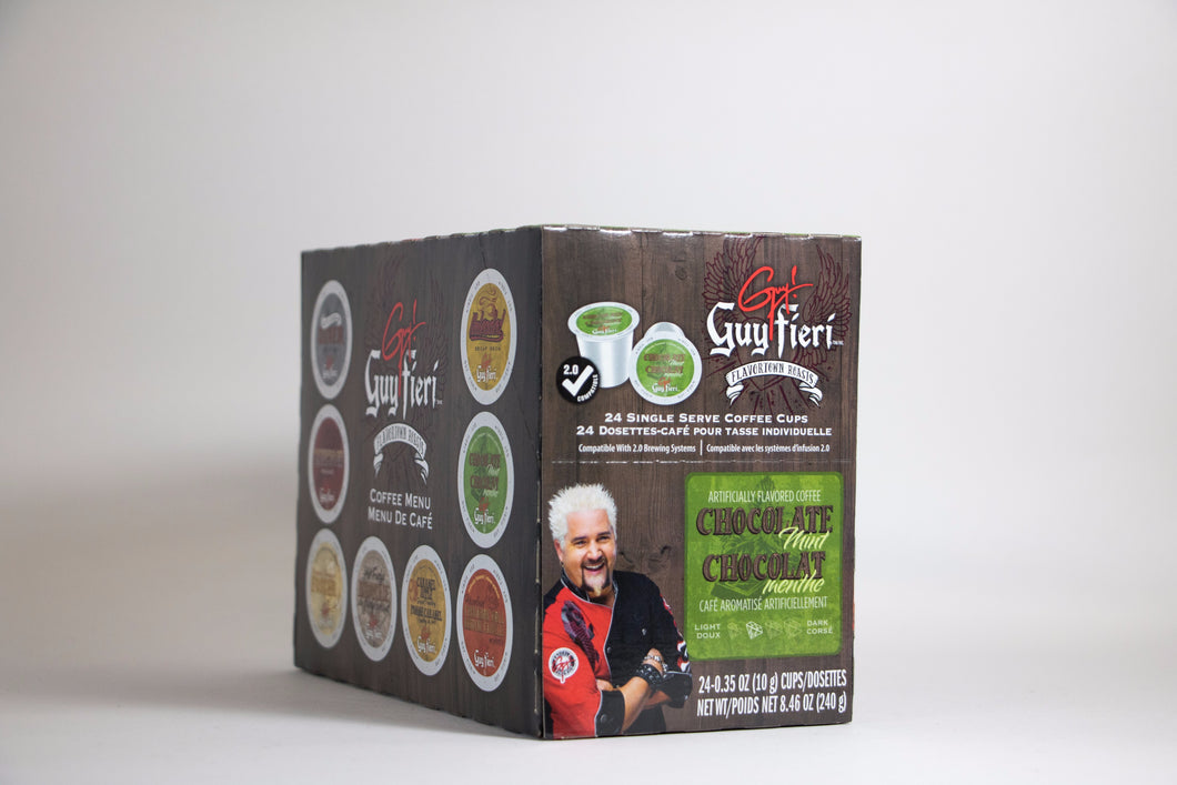 Guy Fieri Chocolate Mint