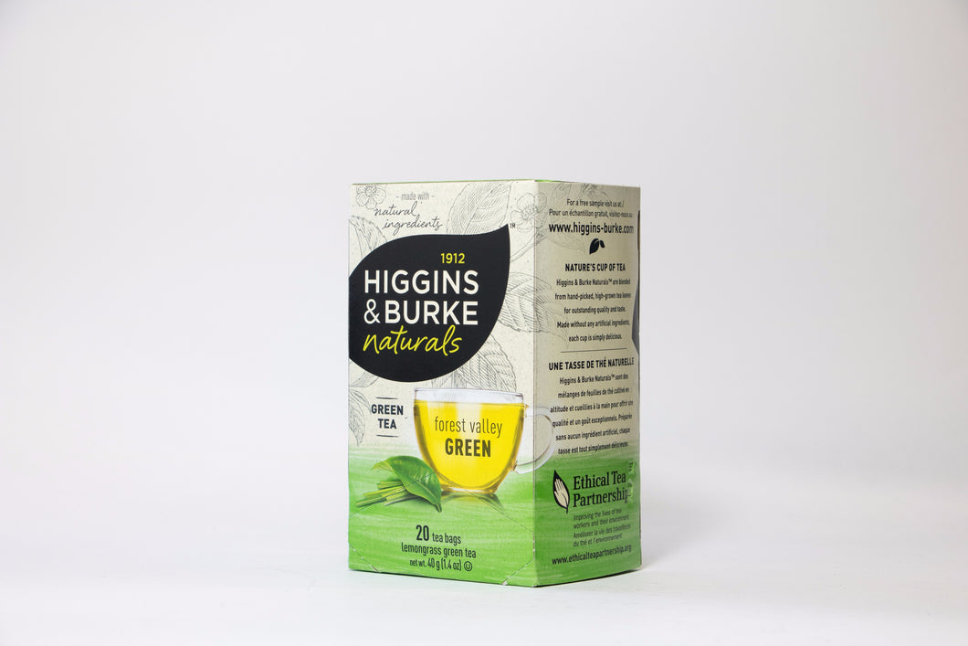 Higgins & Burke Forest Valley Green Tea Bags