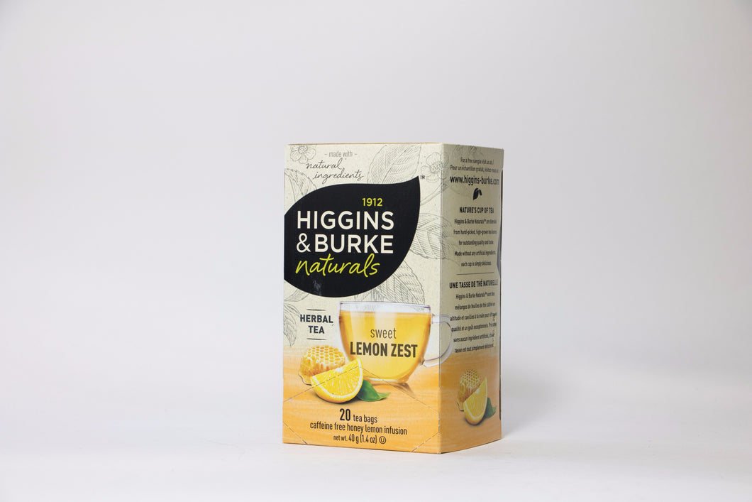 Higgins & Burke Sweet Lemon Zest Tea Bags