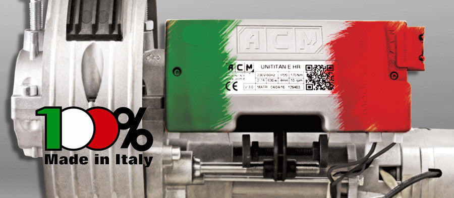 ACM 100% Made in Italy