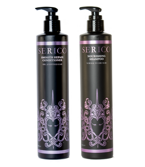Nourishing Shampoo and Smooth Repair Conditioner Bundle