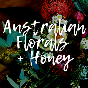 Australian Florals + Honey Wax Melts