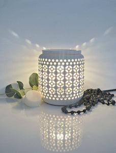 Cut Out Ceramic Electric Wax Warmer