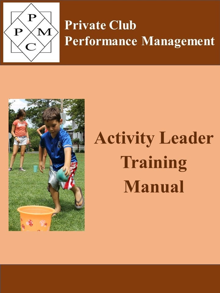 Activity Leader Training Manual