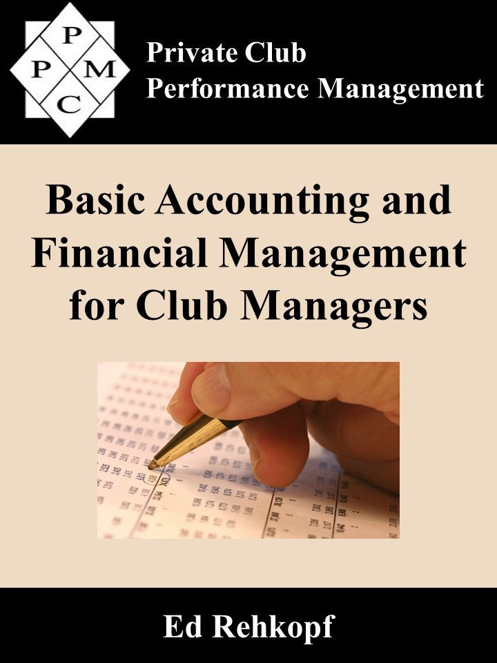 Basic Accounting and Financial Management for Club Managers (digital book)