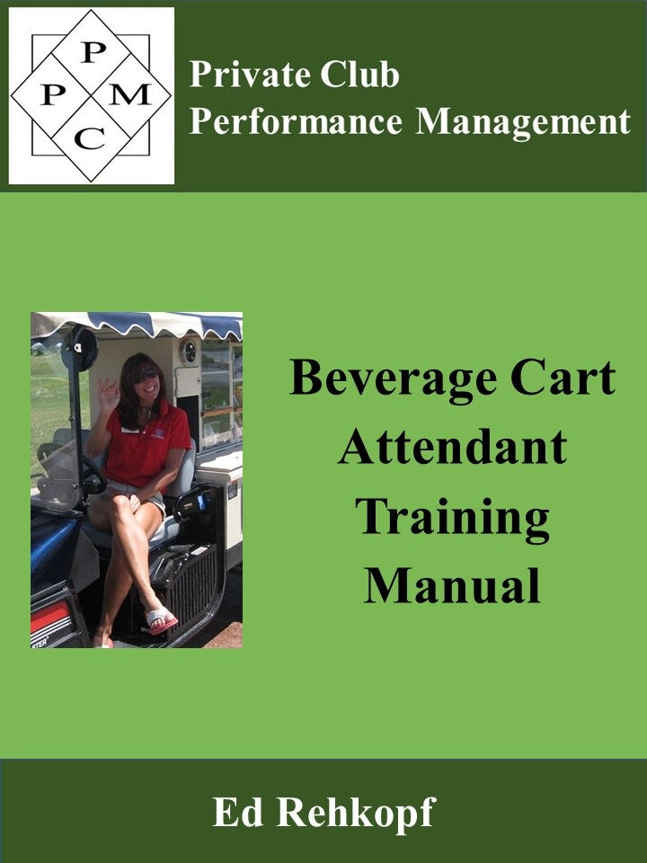 Beverage Cart Attendant Traning Manual
