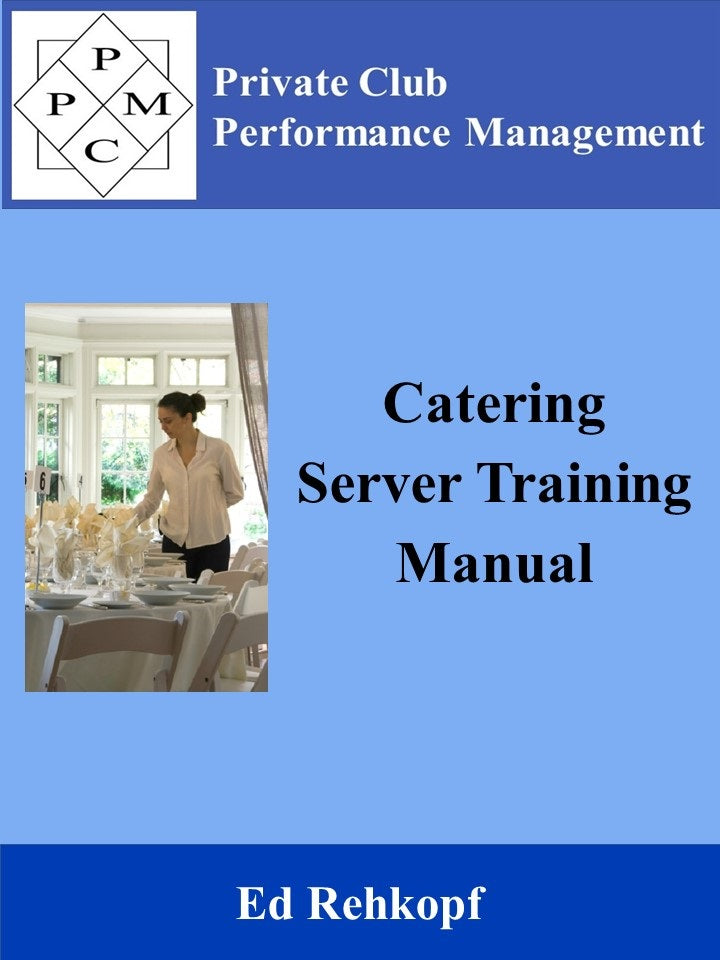 Catering Server Training Manual