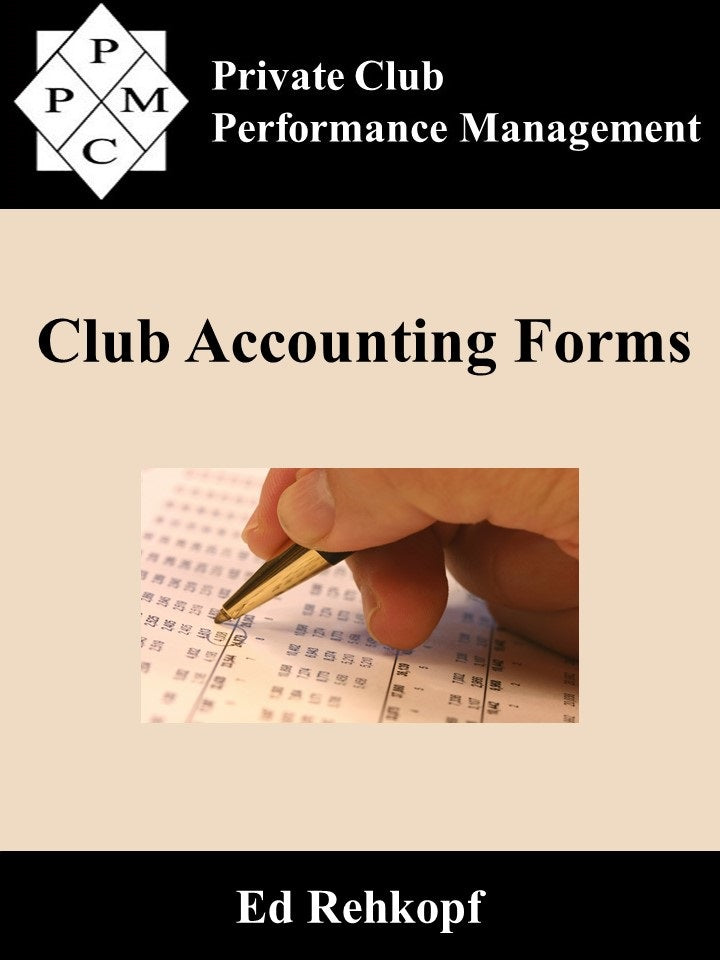 Club Accounting Forms