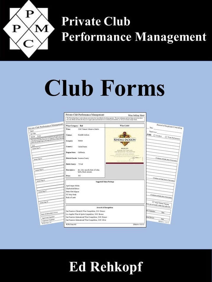 Club Forms - Coming Soon!