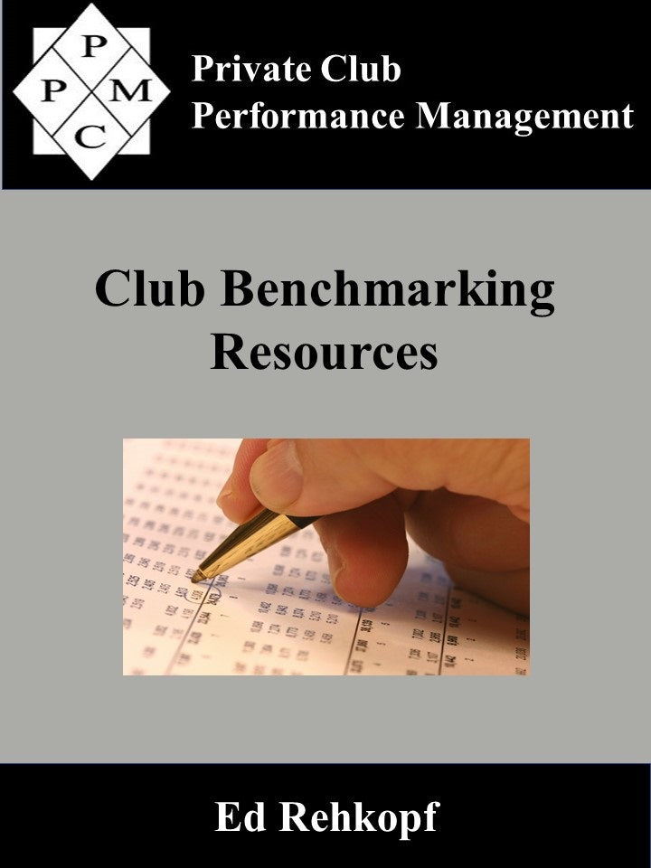 Club Benchmarking Resources (digital book)