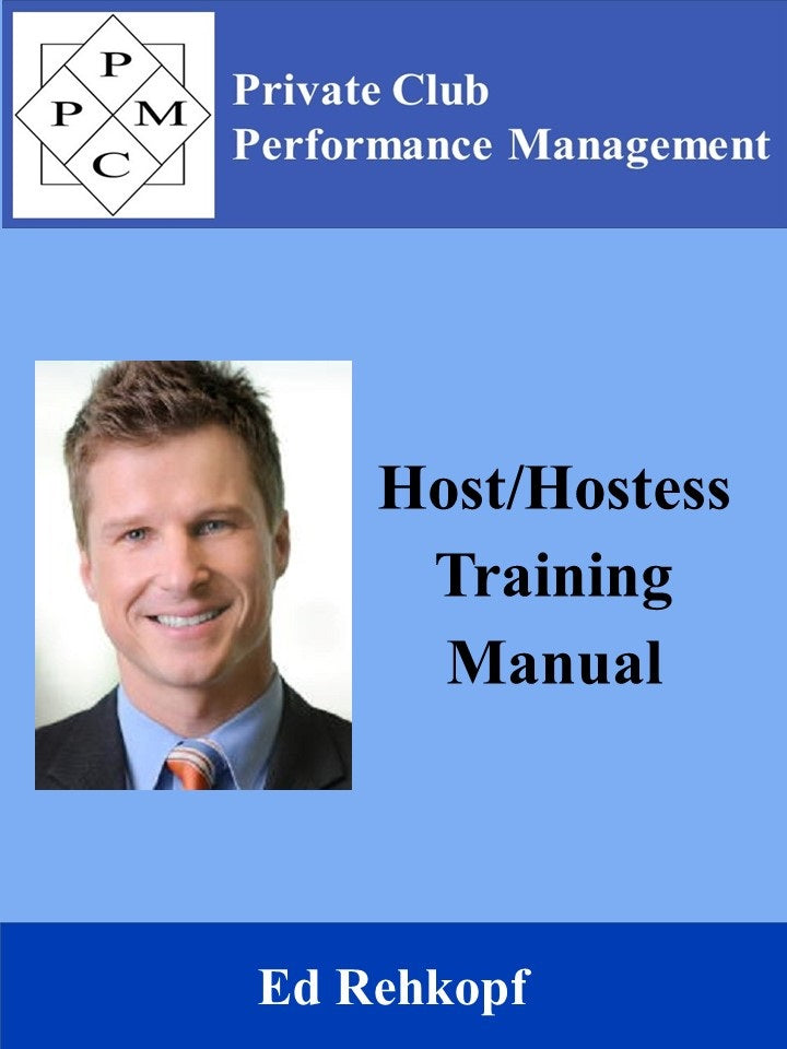 Host/Hostess Training Manual