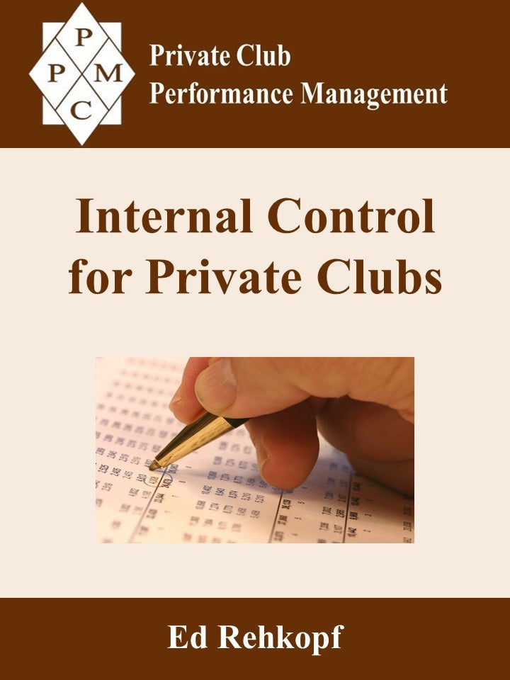 Internal Control for Private Clubs