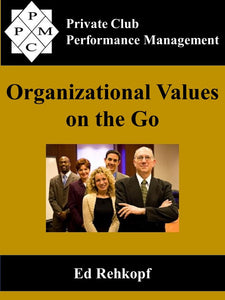 Organizational Values on the Go