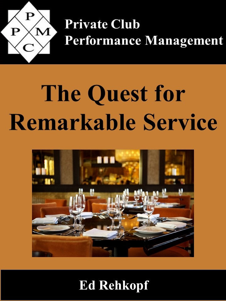 Quest for Remarkable Service, The