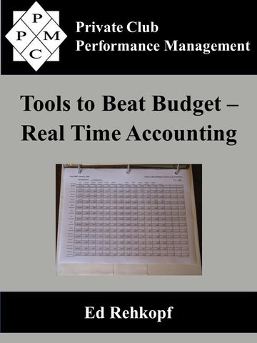 Tools to Beat Budget - Real Time Accounting