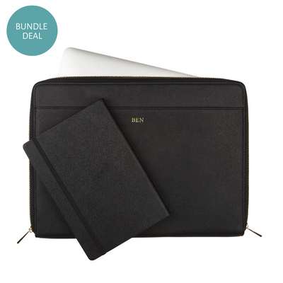 Personal Bundle Set - Laptop Sleeve & A5 Notebook - THEIMPRINT